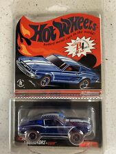 Hot Wheels 2008 RLC Selections 1967 Mustang Blue Color w/ RR