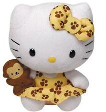 "Hello KITTY-TY Beanie - 6 ""safari peluche jouet doux"