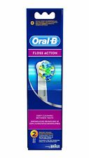 Braun Oral-B EB25-2 Floss Action Toothbrush Refill Brush heads Genuine Pack of 2