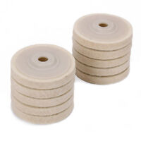 4 Inch Wool Felt Polishing Buffing Wheel For Angle Grinder 10Pcs Thickness 15mm