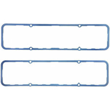 """Fel Pro Valve Cover Gasket Set 1628; Silicone Steel-Core Rubber .250"""" for SBC"""