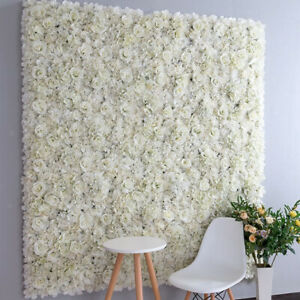 Artificial Fake Rose Silk Flowers DIY Wall Floral Decor Wedding Party Backdrops