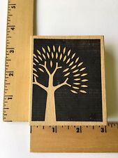 Memory Box Rubber Stamps - Reverse Tree Sprout - NEW
