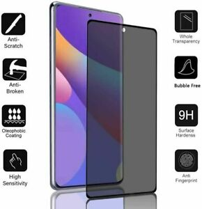 Privacy Tempred Glass Screen Protector For Samsung Galaxy S20 FE S20 S21+ Ultra
