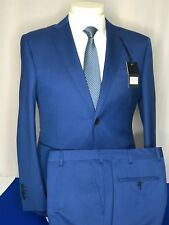 Zanetti 100% Wool Suits Made in Italy LUCA/PZES ART:181/038/059 size. 42R
