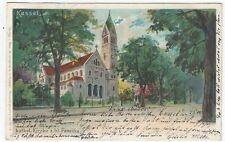 Ansichtskarten vor 1914 aus Hessen mit dem Thema Dom & Kirche