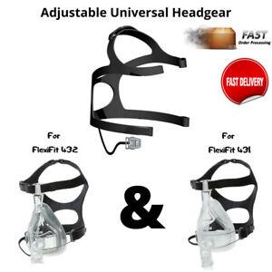 New Adjustable Universal Headgear for FlexiFit 431 & FlexiFit 432 Full Face CPAP