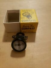 Vintage Dinsmore's Safety Pin Compass-Black Finish Radium Dial w/ Box