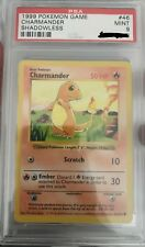 Pokemon Charmander shadowless 46/102 Base set PSA 9 MINT ultra rare
