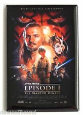 Star Wars: The Phantom Menace FRIDGE MAGNET (2 x 3 inches) movie poster
