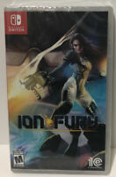 ION FURY : Limited Run Games ! Nintendo Switch ! Best Buy Variant ! OOP ! NEW 🔥