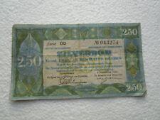 Niederlande 2.50 Gulden Zilverbon 1. Dec.1922 Serie DD