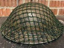 British Army Post WW2 Helmet Net To Fit Mk3 Mk4 Turtle And Brodie Helmets