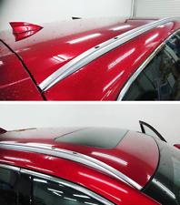 Roof Rail Rack Side Rail Bar Fits for Mazda CX-5 2017- 2020 Aluminum SILVER