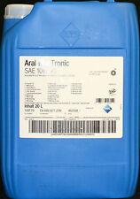 20 Liter Aral Blue Tronic 10W-40 Motoröl 10W40 VW MERCEDES Motorenöl