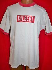 DILBERT The TV Series Red Ringer PROMO T-SHIRT XL Comic Strip VERY RARE