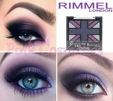 RIMMEL Glam Eyes Quad EYESHADOW Eye Shadow in 006 Purple Reign