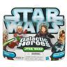 STAR WARS Galactic Heroes Ahsoka & Anakin Skywalker action figures