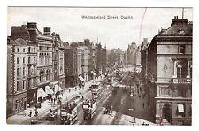 Westmoreland Street - Dublin Photo Postcard c1910
