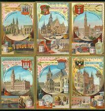 LIEBIG : S_0487 : '(Hôtels de ville Allemands)