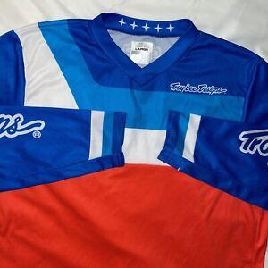 TROY LEE DESIGNS Large GP LONG SLEEVE Racing JERSEY Shirt