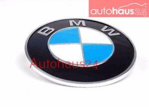 BMW E10 1602 2002 1967-1973 REAR ROUNDEL BMW EMBLEM LOGO GENUINE 51 14 1 801 560