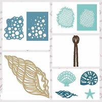 Sunshine Fish Ocean Cutting Dies Stencil scrapbooking Album Embossing Paper Card