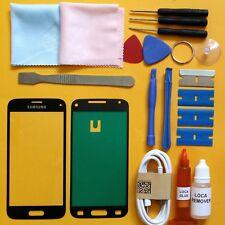 Samsung Galaxy S5 mini Front Glass Screen Replacement Repair Kit BLACK