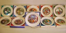 NIB Wedgwood EDME 10 Childrens H C Anderson Grimm Fairy Story Plates 1971-80