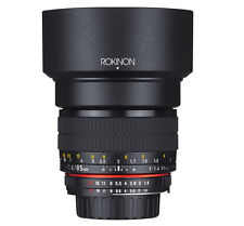 ROKINON 85mm F/1.4 as If UMC Lens for Fujifilm X Mount