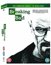 BREAKING BAD - COMPLETE SERIES SEASONS 1 2 3 4 5 *** BRAND NEW DVD BOXSET***