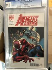 Avengers Academy# 31 CGC 9.8 Spider-man variant cover Only 3 Graded
