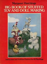How-to-Make Stuffed Toy Animals and Dolls / Illustrated Book + Patterns