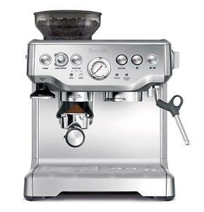 Breville BES870XL Barista Express Espresso Machine Manufacturer Refurbished