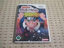 Naruto Clash of Ninja Revolution para Nintendo Wii y Wii U * embalaje original *