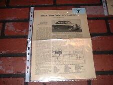 Riley deux-Point-Six Motor Trader service feuilles d'information. GRATUIT ROYAUME-UNI post