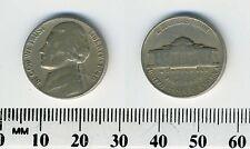"USA 1946 -  5 Cents Jefferson Nickel Coin - ""Monticello"" - #1"