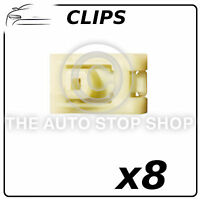 Clips Plastic Nuts For Tapping Screws Renault Megane II Part 10867 Pack of 8