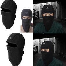 Motorcycle Thermal Fleece Balaclava Neck Men Winter Ski Full Face Mask Cap Cover