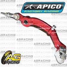 Apico Red Rear Foot Brake Pedal Lever For Gas Gas Pro 300 2014 14 Trials New