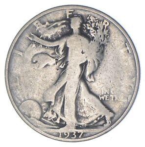 Better 1937-D - US Walking Liberty 90% Silver Half Dollar Coin Set Break *854
