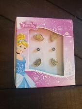 Girls Kids Disney Princess Cinderella Dove Jewel Stud Earring S/3 Styles