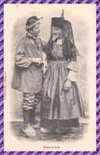 Postcard - Magnat and Zette ( couple bressan )