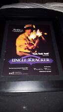 Uncle Cracker Yeah, Yeah, Yeah Rare Radio Promo Poster Ad Framed!