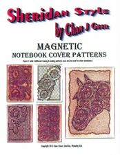 Sheridan Style Magnetic Notebook Cover Patterns #1 by Chan Geer (Leather Design)