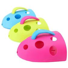 Sucker Baby Bath Drain Store Toy Storage Tidy Organiser Holder Scoop Bin J1B8