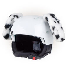 Stick-on Ears for skiing helmet - DALMATIAN - Decoration Cover Cool ear kid kids