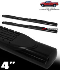 "For 2004-2008 Ford F150 Super Cab 4"" Oval Blk Side Step Nerf Bars Running Boards"