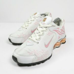Nike Shox R4 Torch Flame Pink Trainers Vintage 2001 Y2K Collector NOT WEARABLE