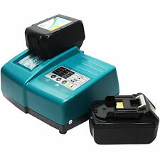 2-Pack 18V Battery 3Ah & UniCharger for Makita BL1830, BHP451, BSS611Z, BPB180